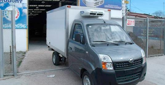 Refrigeración transporte de congelados furgones Montevideo