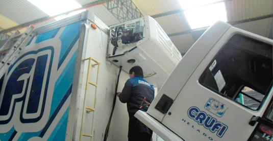 Servicio Mecánico, Refrigeración y Aire Acondicionado Flota de Camiones Montevideo