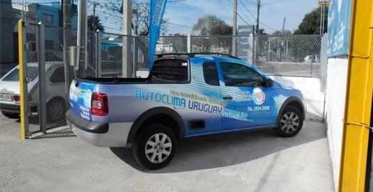 Aire acondicionado para autos y camionetas en montevideo