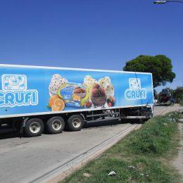 Instalación de equipos de refrigeración flota de camiones de helado