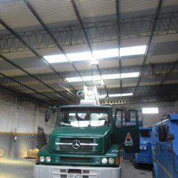 Instalación de equipos de aire acondicionado grúas