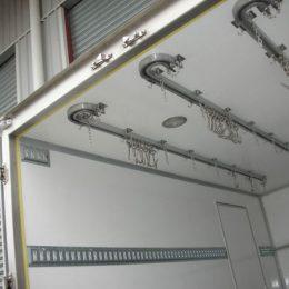 Instalación de equipos de refrigeración transporte carne