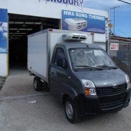 Instalación de equipos de refrigeración flota de furgones