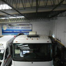 Instalación de equipos de refrigeración flota de camiones