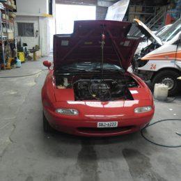 Instalación de aire acondicionado autos