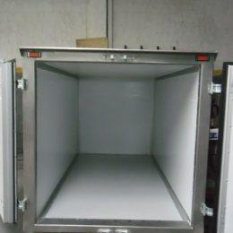 Instalación de cajas de frío flota de camiones