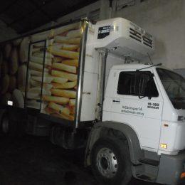 Instalación de equipos de refrigeración flota de camiones frigorífico