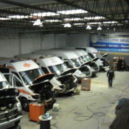 Instalación de equipos de aire acondicionado flota de vehículos